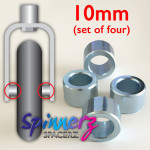 Wheelchair Castor spacers from Spinnerz — 10mm